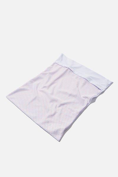 Delicates Wash Bag, WHITE