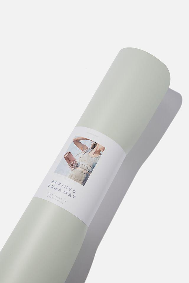 Refined Yoga Mat, GREEN HAZE