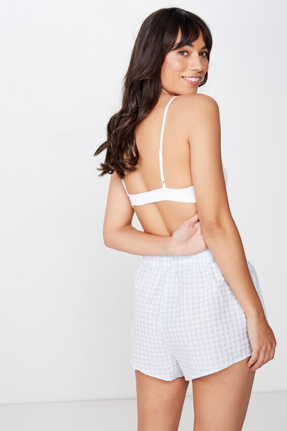 Sleep Time Boxer Short, MIDDY GINGHAM/ BABY BLUE