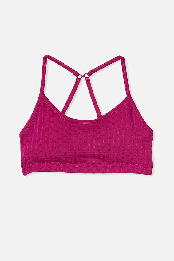 Workout Yoga Crop, BATON ROUGE TEXTURE