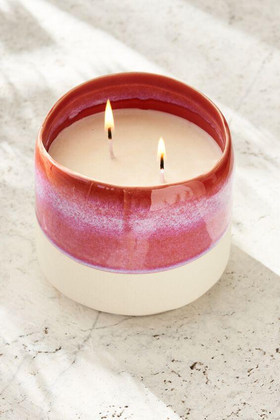 Serenity Candle, STRAWBERRY MILKSHAKE/