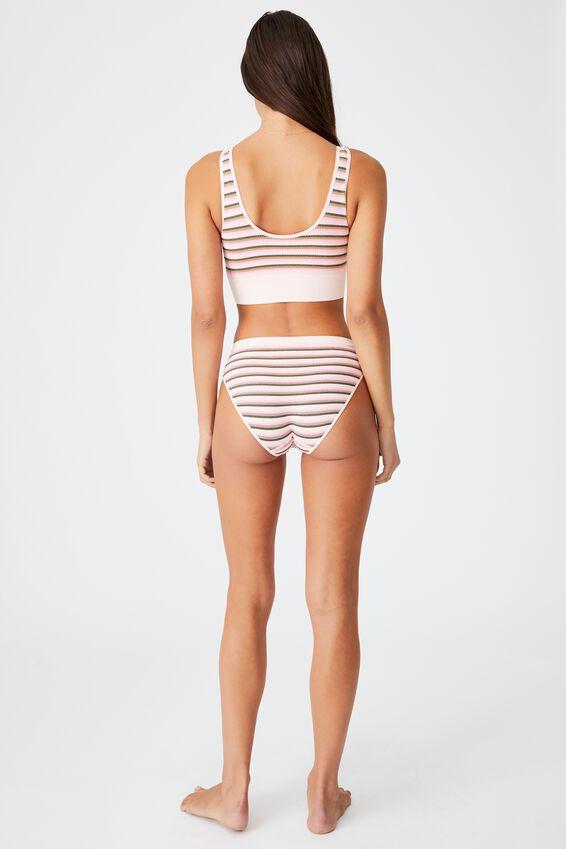 Seamfree Bikini Brief, VINTAGE STRIPE