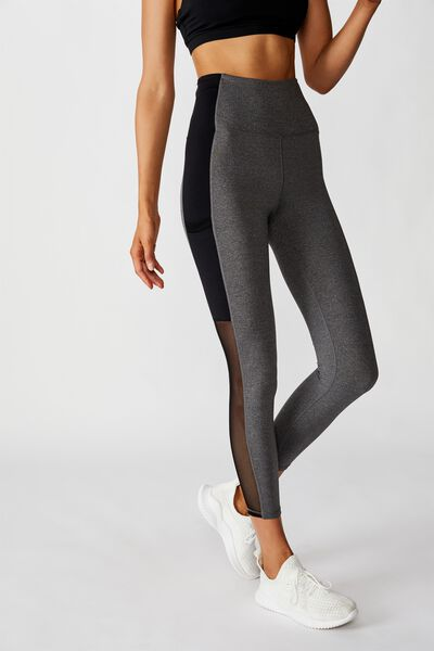 Mesh Pocket 7/8 Tight, CONCRETE MARLE/BLACK