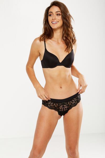 Phoebe Brasiliano Brief, BLACK