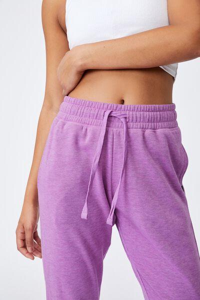Lifestyle Gym Track Pant, SMOKEY GRAPE MARLE