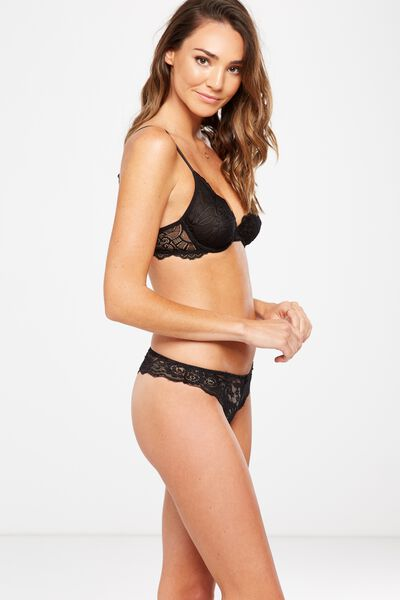 Lauren G-String Brief, BLACK