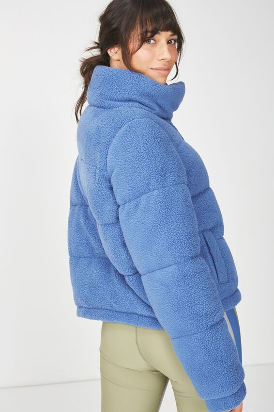 Sherpa Explorer Puffer Jacket, MARINA BLUE