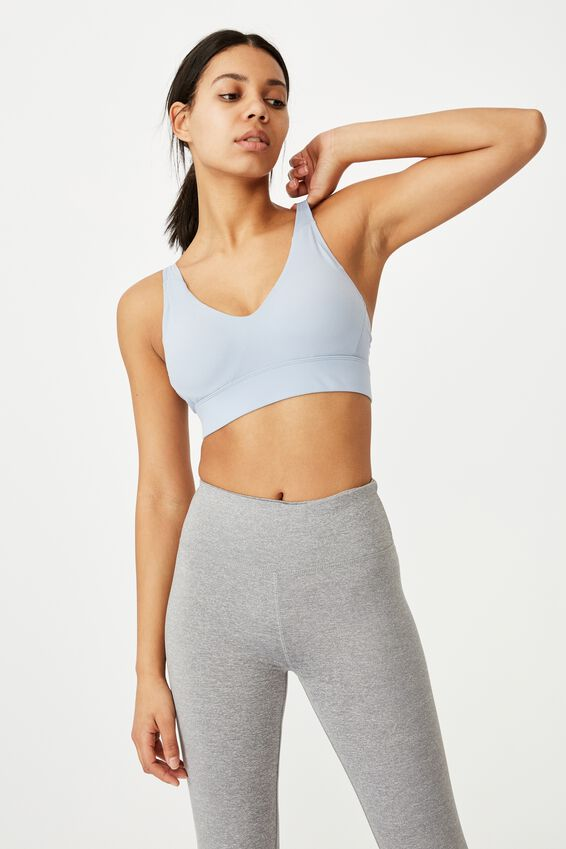 Workout Training Crop, BALTIC BLUE