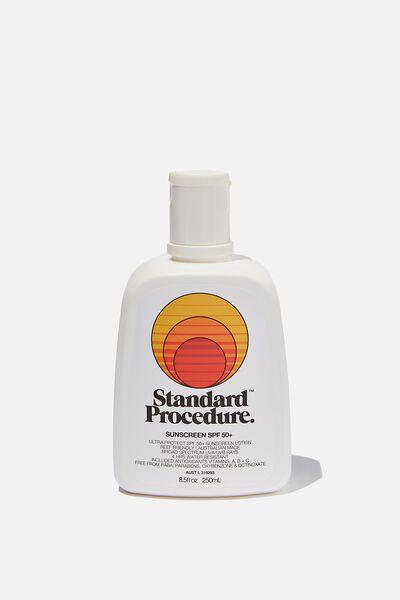 Standard Procedure Spf 50+ Sunscreen 250Ml, SPF 50+