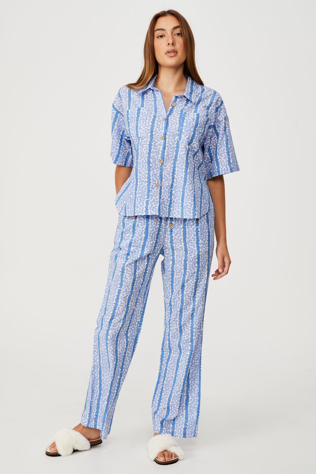 Bed Time Woven Set, COLUMN DITZY