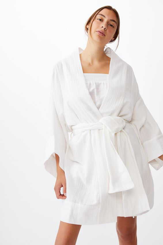 I-Do Robe, WHITE