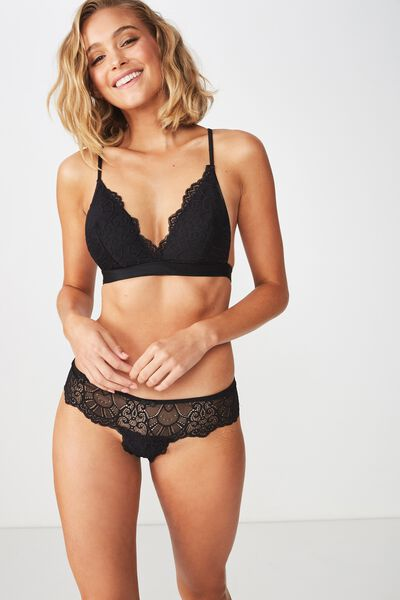 Candice Boyleg Brief, BLACK