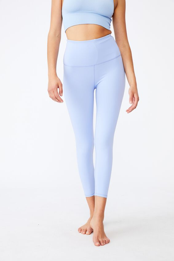 Active High Waist Core 7/8 Tight, CORNFLOWER