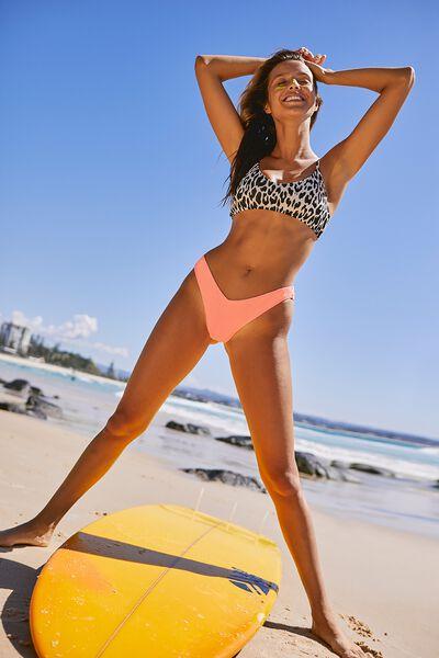 b2c7837aaffc3b V Neck Bralette Bikini Top