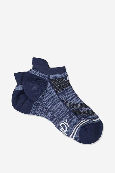 Running Sock, NAVY