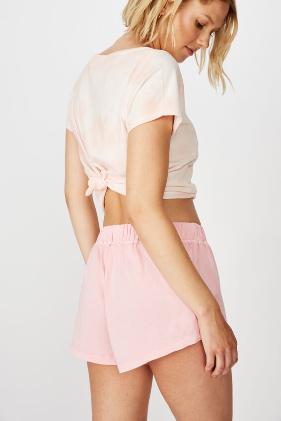 Jersey Bed Short, SHELL PINK