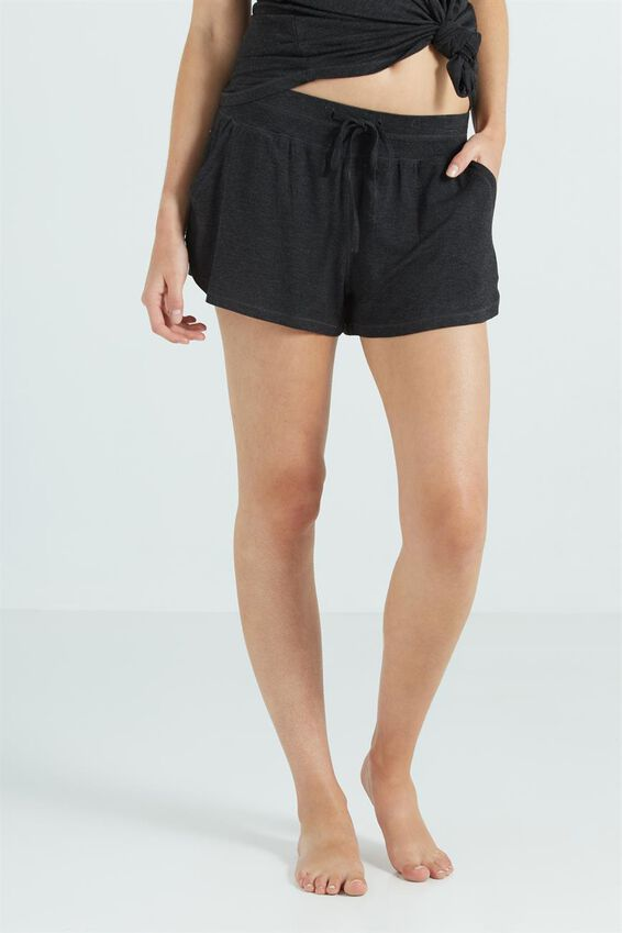 Sleep Recovery Short, BLACK MARLE