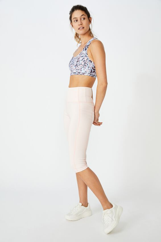 Strappy Sports Crop, LAYERED FROND