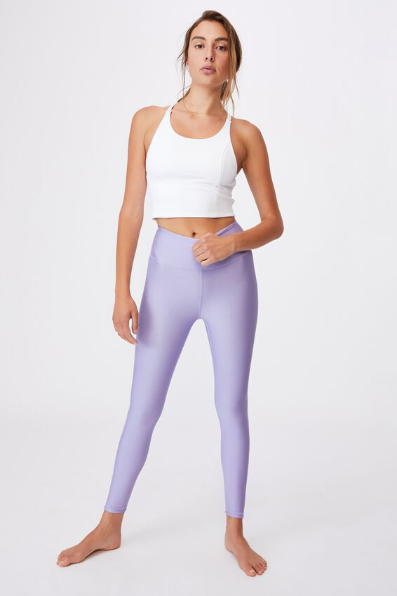 Reversible 7/8 Tight, IRREGULAR SPECK CHALKY LAVENDER/CHALKY LAVEND