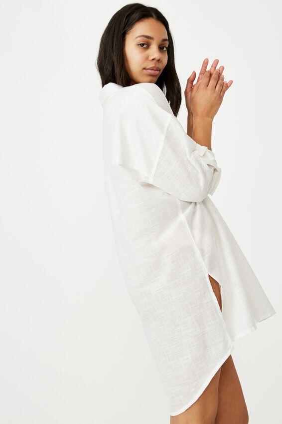I-Do Shirt Nightie, WHITE