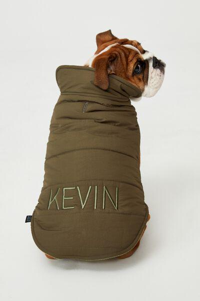 Personalised Body Buddy Mother Puppa Jacket, KHAKI