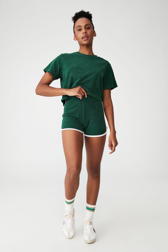 The Sweat To Swim T-Shirt, VERDENT GREEN