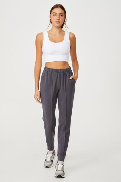 All Day Studio Pant, PEWTER GREY