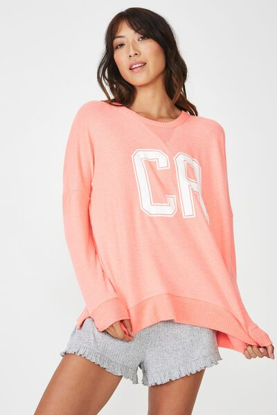 Super Soft Relaxed Lounge Crew, CALYPSO MARLE/CA