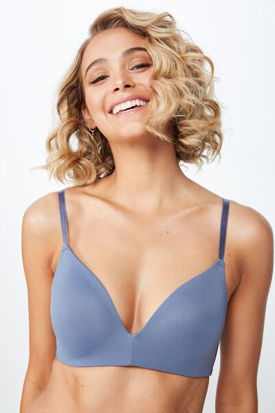 Ultimate Comfort Bra, AIRY BLUE