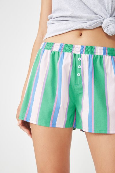 Bedtime Fun Shortie, FUN STRIPE