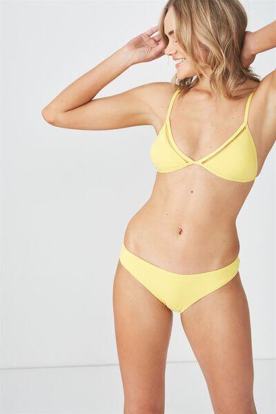 Classic Seamless Full Bikini Bottom, SAHARAH YELLOW
