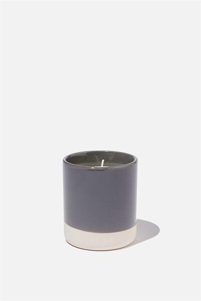 Glaze Candle, CHARCOAL