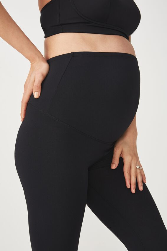 Maternity Core 7/8 Tight, BLACK