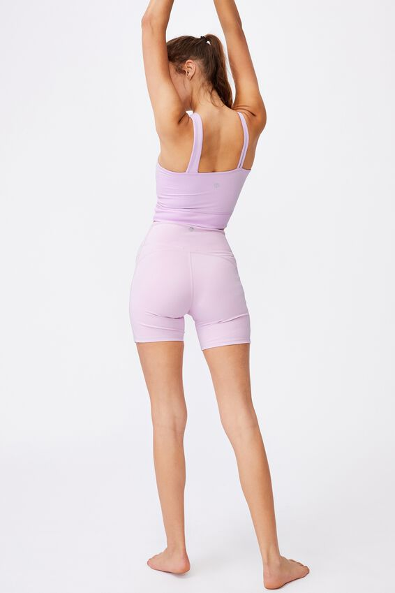 Run With It One Shoulder Vestlette, BLOSSOM MARLE