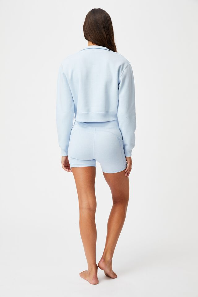 Lifestyle Getting Out Half Zip Fleece, BABY BLUE