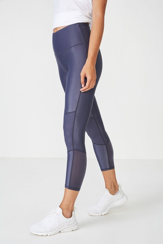 Ultra Highwaisted 7/8 Tight, SHADOW SHIMMER/PANEL
