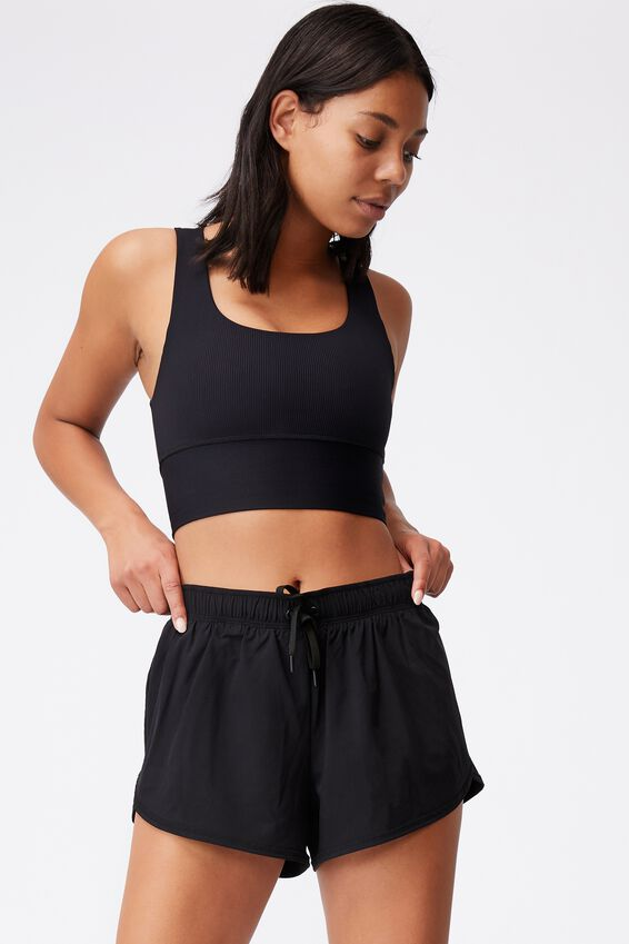 Lifestyle Move Jogger Short, BLACK/MID GREY MARLE