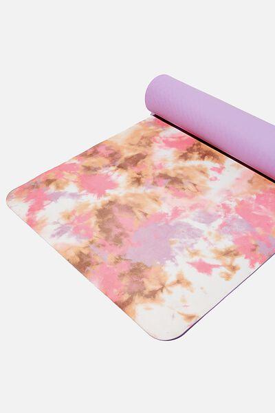 Premium Yoga Mat, DESERT TIE DYE