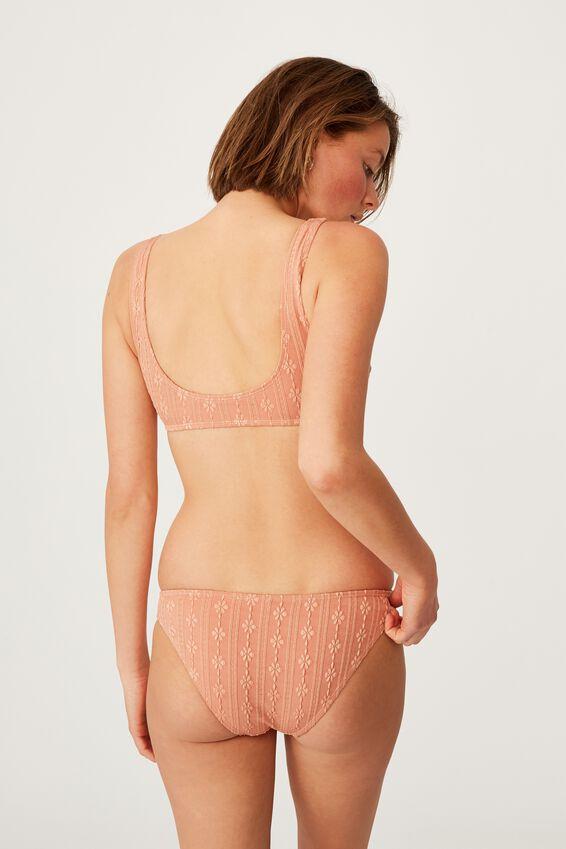 Full Bikini Bottom, TERRACOTTA BROIDERIE
