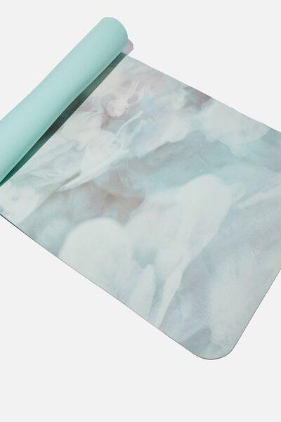 Premium Yoga Mat, GRADIENT SMOKE