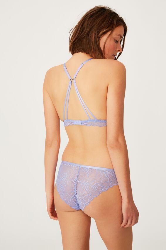 Summer Lace Bralette, CORNFLOWER LILAC