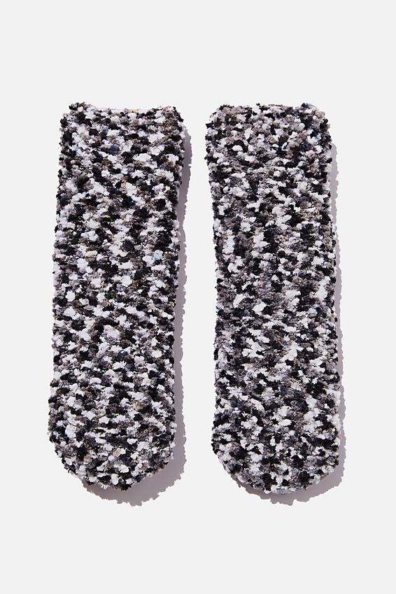 Body Dreamy Bed Sock, BLACK