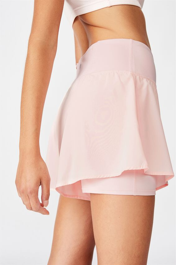 Highwaist Running Short, PINK SHERBET