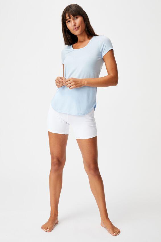 Gym T Shirt, BABY BLUE