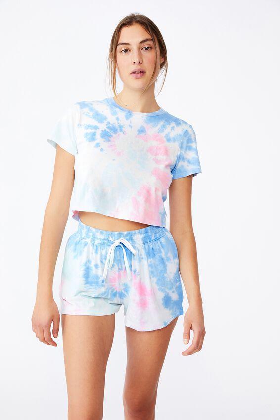 Baby Sleep T-Shirt, TIE DYE SWIRL