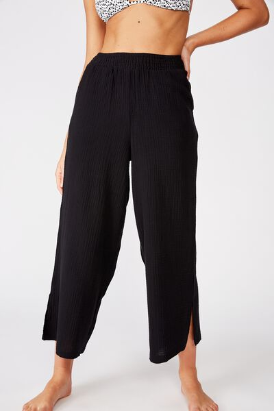 Swim Beach Pant, BLACK