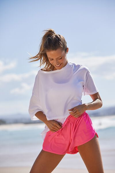 Move Jogger Short, STRAWBERRY PUNCH