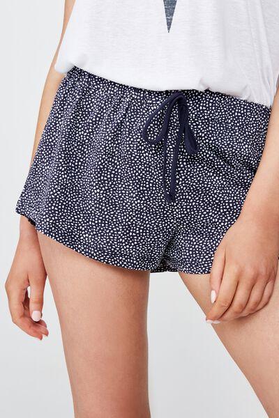 Jersey Bed Short, MIDNIGHT SPOT