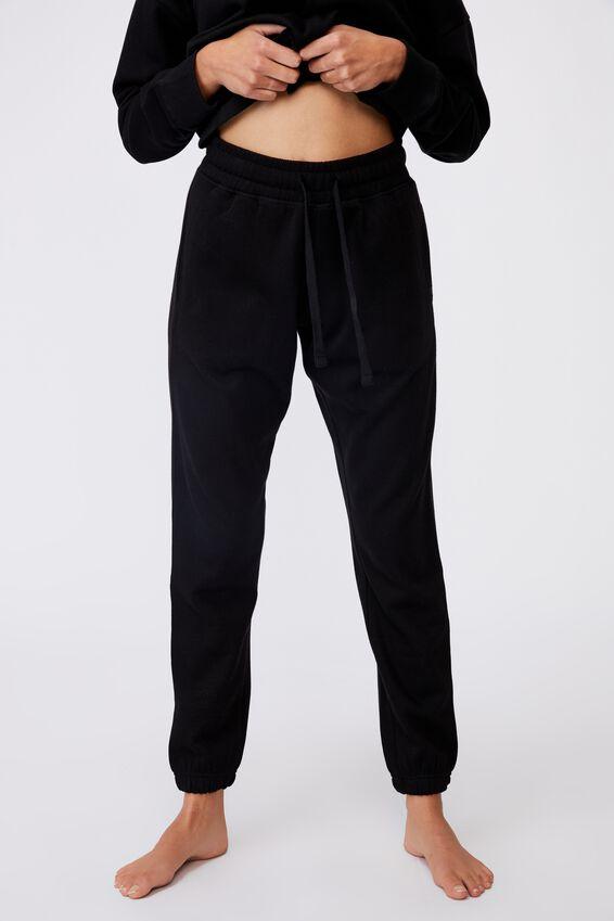 Lifestyle Gym Track Pant, BLACK