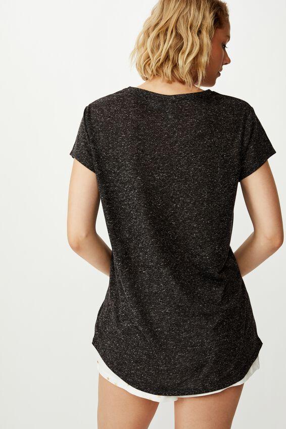 Dreamy Sleep T-Shirt, LCN DIS BLACK/TINKERBELL